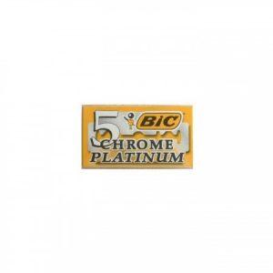 Ξυραφάκια Bic Chrome Platinum Pack 5 Λεπίδες