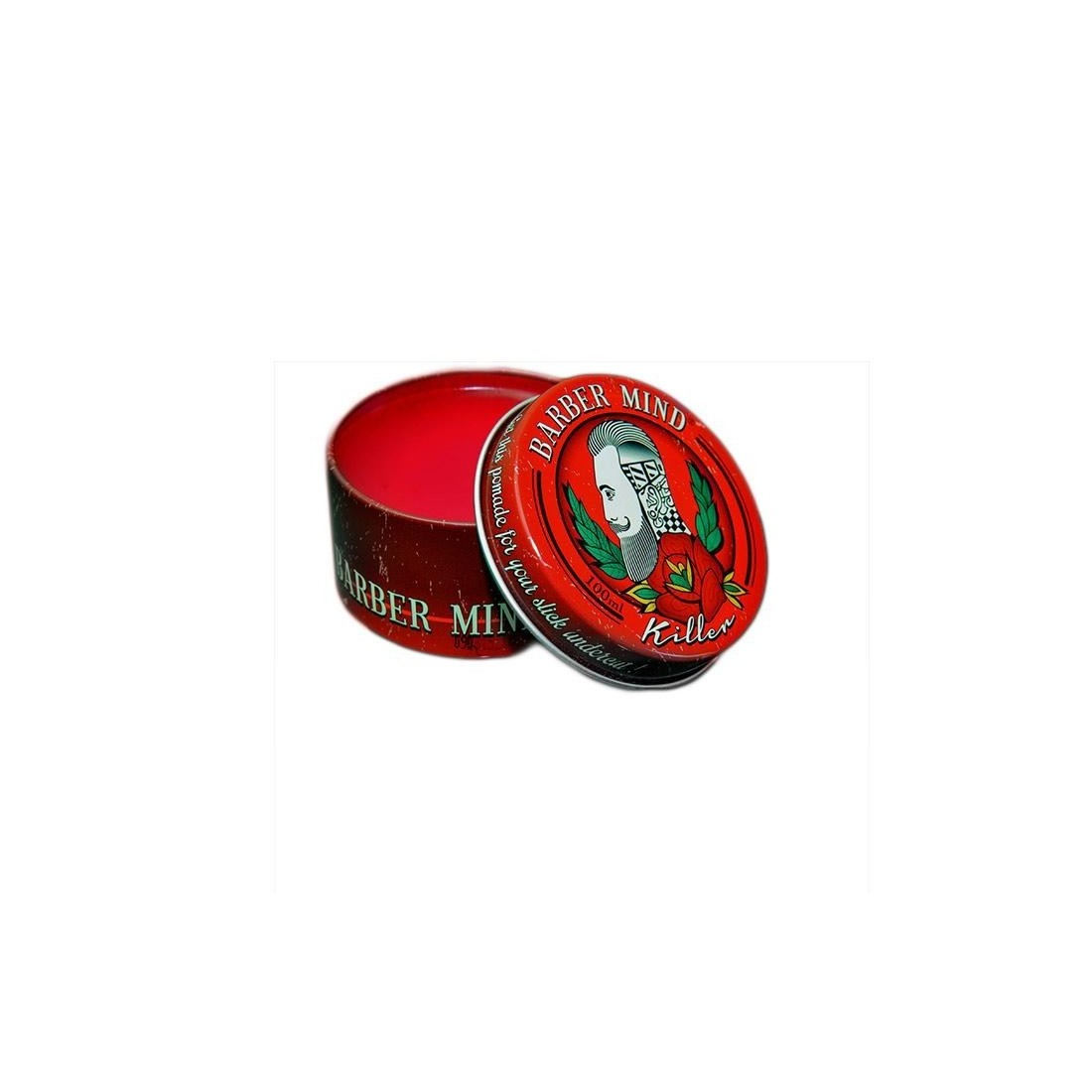 Barber Mind Pomade Killer Waterbased Red 100ml