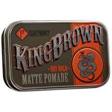 KING BROWN MATTE POMADE 71GR