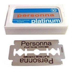 Ξυραφάκια Personna Platinum 10τεμ.