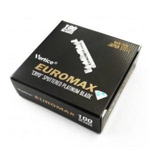 Ξυραφάκια μισά Euromax 100τεμ.