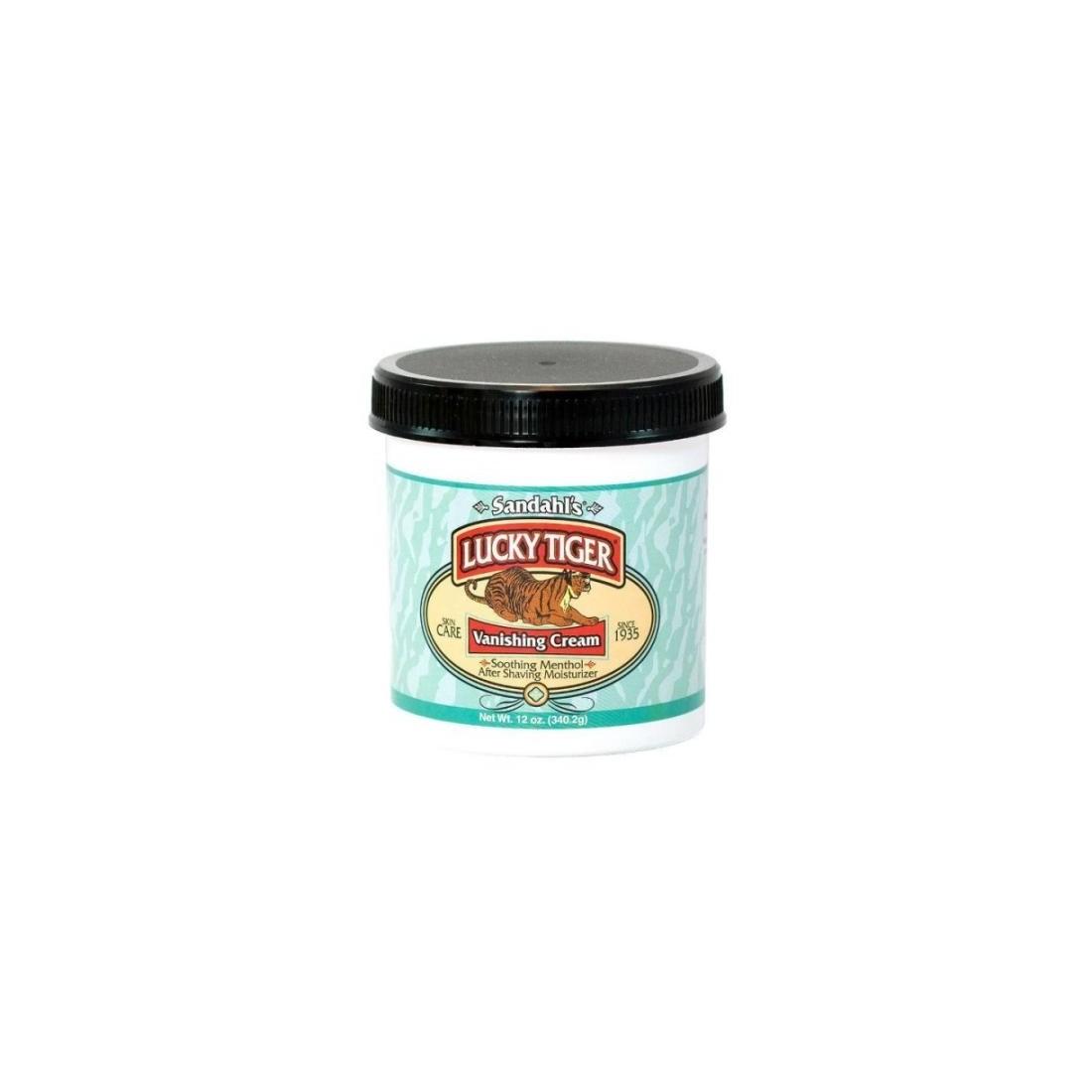 Lucky Tiger Menthol Mint Vanishing Cream Moisturizer 340gr