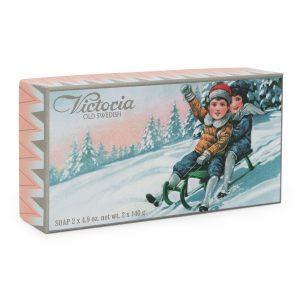 Victoria Soap winter edition(2kid's) 2x140gr (2X4,9oz.net wt.)