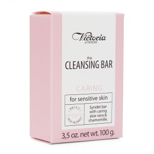 Victoria the cleansing bar caring for sensitive skin 100g(3,5oz.net)