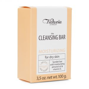 Victoria the cleansing bar moisturizing for dry skin 100g(3,5oz.net)