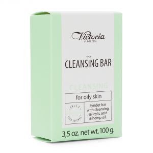 Victoria the cleansing bar cleansing for oily skin 100g(3,5oz.net)
