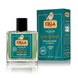 Cella Milano after shave lotion bio/organic with aloe vera (sensitive skin) 100ml(3.5fl.oz.)