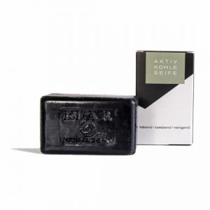 Klar Activated Charcoal soap(hands and body)