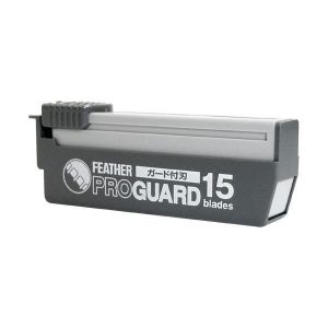 FEATHER PROF.BLADES PROGUARD PG-15 , thick 0,15mm (for artist)