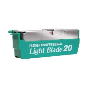 FEATHER PROF.BLADES LIGHT BLADE PL-20 , thick 0,254mm (for artist)