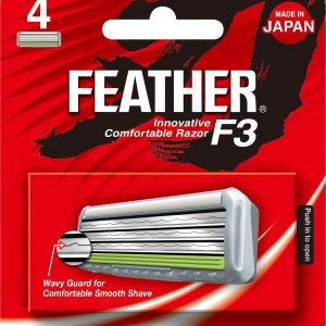 Feather Innovative Comfortable Razor F3 Blades (4ps pack) SE-4