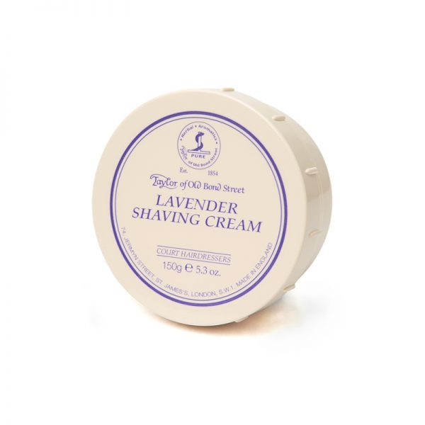 Taylor of Old Bond Steet cream bowl lavender 150gr