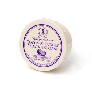 Taylor of Old Bond Street cream bowl coconut 150gr