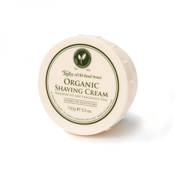 Taylor of Old Bond Street cream bowl organic 150gr