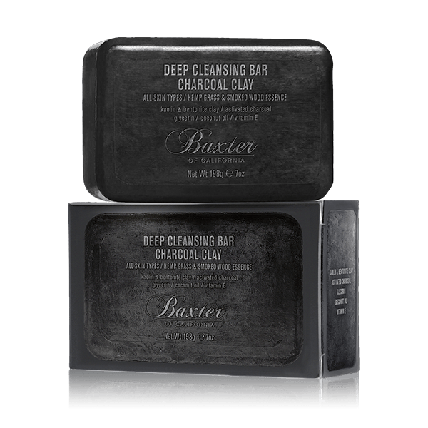 Baxter of California Deep Cleansing Bar Charcoal Clay 198g(net wt.7.oz)