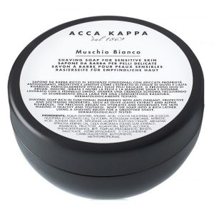 Acca Kappa shaving soap white musk for sensitive skin 200ml (6,7fl.oz.)