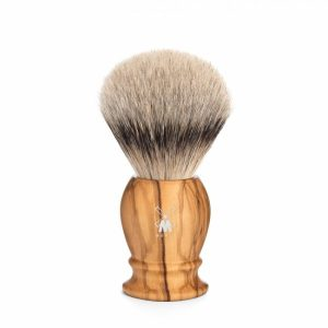 Muhle CLASSIC shaving brush 091 H 250 – silvertip badger/olive wood/21mm