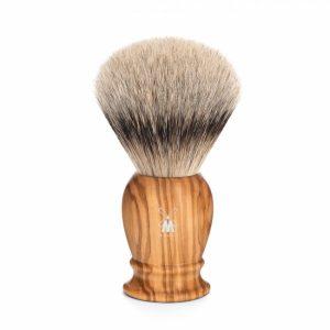Muhle CLASSIC shaving brush 093 H 250 – silvertip badger/olive wood/23mm