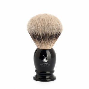 Muhle CLASSIC shaving brush 091 K 256 – silvertip badger/high-grade resin/21mm