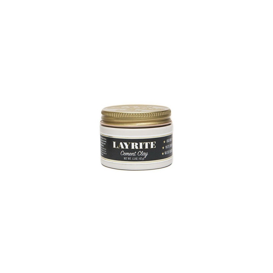 Layrite Cement High Hold Matte Hair Clay 42gr