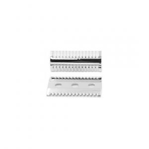 Yaqi Chrome Mellon Open Comb Safety Razor Head SRH012 κεφαλή παραδοσιακής ξυριστικής μηχανής