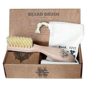 Kent men's beachwood beard brush