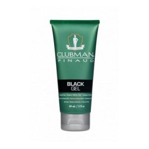 Clubman Temporary Colour Hair Black Gel 89ml