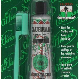 Clubman Moustache Wax Chestnut(light brown) 4g