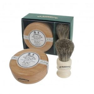 Dr Harris Arlington shaving gift set(shaving soap in bowl and sh.brush)