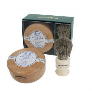 Dr Harris Windsor shaving gift set(shaving soap in bowl and sh.brush)