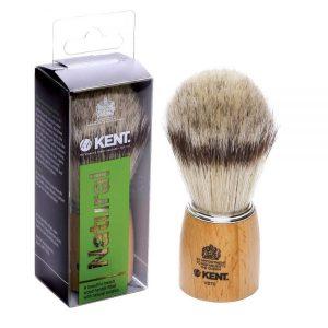 Kent Shaving Brush Wood Handle & Pure Bristles – VS70 (πιν.ξυρίσματος χοίρου)