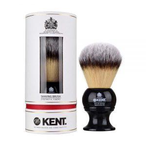 Kent Shaving Brush Large,Black & Synthetic Bristles – BLK12S (πιν.ξυρίσματος συνθετικό τρίχωμα)