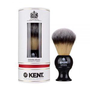 Kent Shaving Brush Medium,Black & Synthetic Bristles – BLK8S (πιν.ξυρίσματος συνθετικό τρίχωμα)
