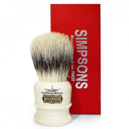 Simpsons Chubby 2 Synthetic Bristles
