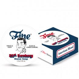 Fine Shaving Soap American Blend 150ml NEW Formula