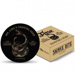 Fine Shaving Soap Snake Bite 150ml