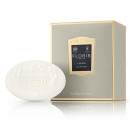 Floris Elite Cefiro Soap 3x100g