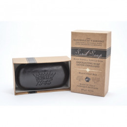 Saponificio Varesino Hand & Body Scrub Soap Charcoal 300gr