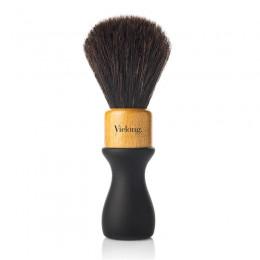 Vie Long American Professional Shaving Brush, Black Horsehair, Diam.24