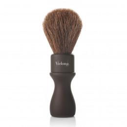 Vie Long American Professional Shaving Brush, Brown Horsehair, Diam.24