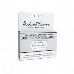 Rockwell Razors – 20pcs pack of double edge razor blades (ξυραφάκια)
