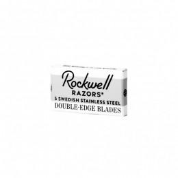 Rockwell Razors – 5pcs pack of double edge razor blades (ξυραφάκια από σουηδικό ατσάλι)