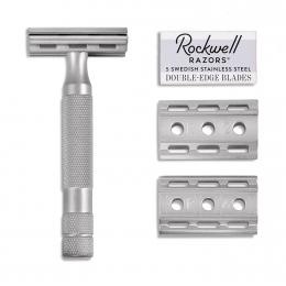 Rockwell Razors – 6S matte stainless steel