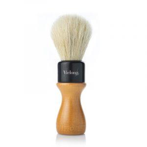 Vie Long American Professional Shaving Brush, White Horsehair, Diam.24