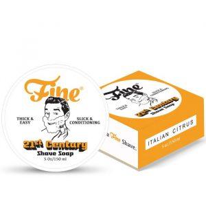 Fine Shaving Soap Italian Citrus 150ml NEW Formula