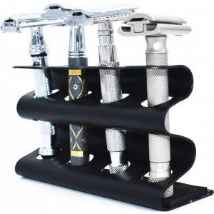 Βάση για Ξυριστικές Μηχανές Parker 4RZRSTDBLK Deluxe Μαύρη