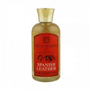 Geo. F. Trumper Spanish Leather Hair & Body Wash 100ml (σαμπουάν & αφρόλουτρο)