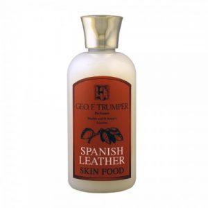 Geo. F. Trumper Spanish Leather Skin Food 100ml (χρήση ως preshave και aftershave balm)