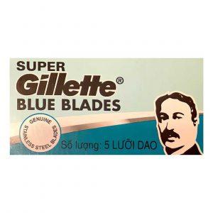Λεπίδες Ξυρίσματος DE Gillette Super Blue Blades – 5 Ξυραφάκια