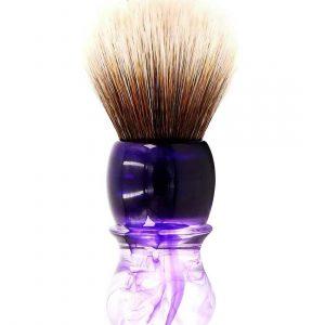 Συνθετικό Πινέλο Ξυρίσματος Yaqi Purple Haze Mew Brown R1738-S Knot 24mm
